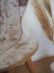 Shabby Chic Stuhl im Alpendesign
