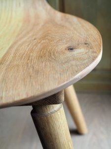 SÜSSHOLZ Herzerlstuhl Sitzfläche aus Eiche Close Shot