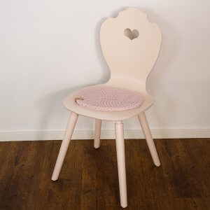 SÜSSHOLZ Stuhl mit Pink Ground lackiert