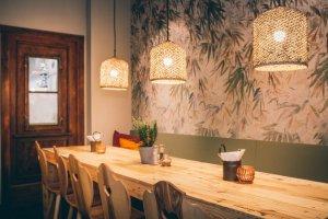 SÜSSHOLZ Herzerlstühle im Togather Restaurant in München