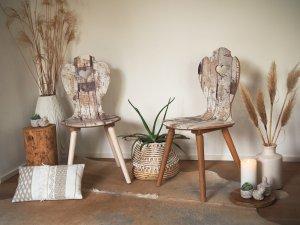 Boho Stil Einrichtung Bauernstühle