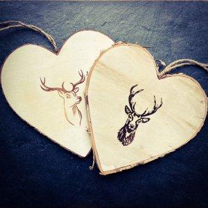 Nachhaltiger Gutschein individuell aus Holz