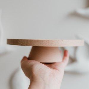 Mini Kuchenständer aus Holz von Eulenschnitt