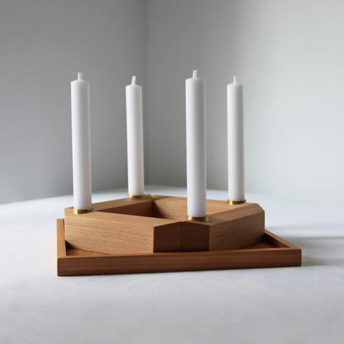 Scaninavische Weihnachten Interior Kerzenhalter